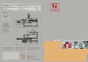 MA 100 ITA-ING.fh11 - Marchesini Group