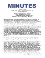 Minutes - Lower Rio Grande Valley Development Council