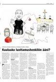 """""""Reppuun ei tarvita meikkilaukkua"""" - Espoon seurakuntasanomat - Page 3"""