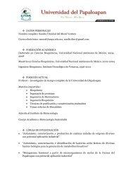 Sandra Trinidad del Moral Ventura Correo electrónico - UNPA