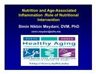 Nutrition and Age-Associated Inflammation - American Geriatrics ...