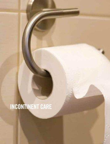 INCONTINENT CARE - MDA