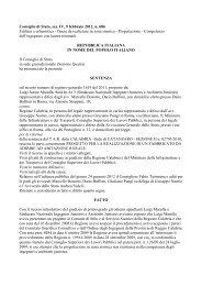 Consiglio di Stato, sez. IV, 9 febbraio 2012, n. 686 ... - Ediltecnico