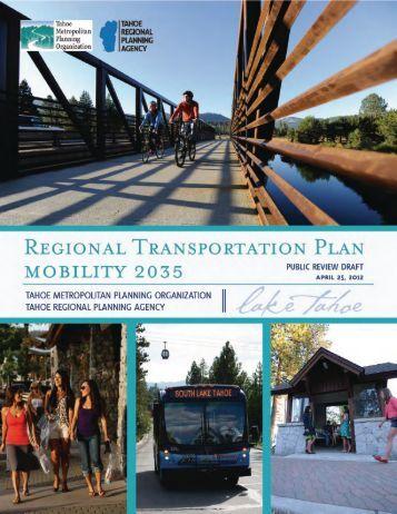 Tier 1 - Tahoe Metropolitan Planning Organization