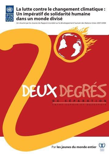 La lutte contre le changement climatique - Human Development ...