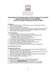 Presentation to Spring Session etc - European Association of ...