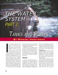 Water Systems Part 2 - Tanks and Pumps (Backwoodsman)