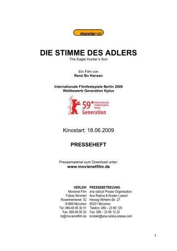 DIE STIMME DES ADLERS - Movienet Film GmbH