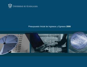 Presupuesto Inicial de Ingresos y Egresos 2006 - Coordinación ...