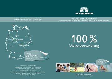 Herzlich willkommen im Fortbildungsjahr 2012 - Gräfliche Kliniken