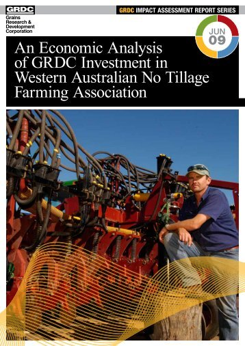 An Economic Analysis of GRDC's Investment in Western Australian ...