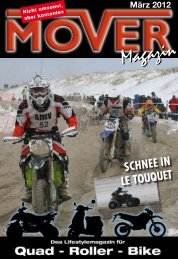 SCHNEE IN LE TOUQUET - Mover Magazin