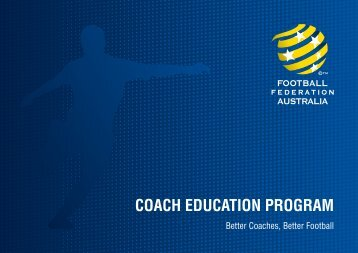 FFA Coach Education Program - Football Gold Coast