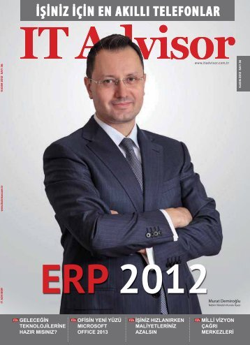 Kasım 2012 Sayı 36 - IT Advisor