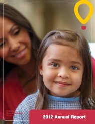 2012 Annual Report - Children's Miracle Network Hospitals