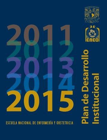 plan de desarrollo institucional 2011-2015 - ENEO - Dirección ...