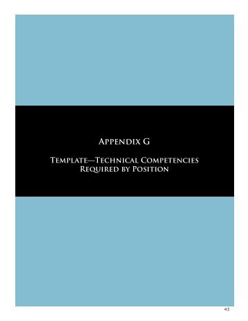 Technical Competencies Required by Position (PDF, 1 MB)