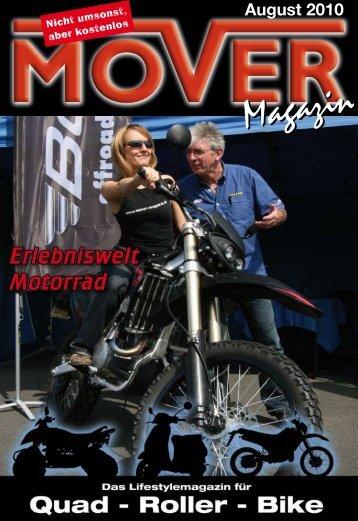 Erlebniswelt Motorrad - Mover Magazin