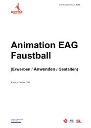 Animation EAG Faustball - Swiss Faustball