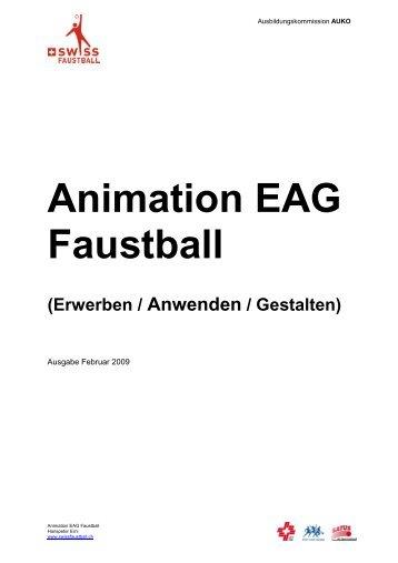 Animation EAG Faustball - Swiss Faustball