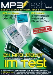 cebop RUN XL cebop RUN XL. Dein neuer MP3-Player ... - mp3 Flash