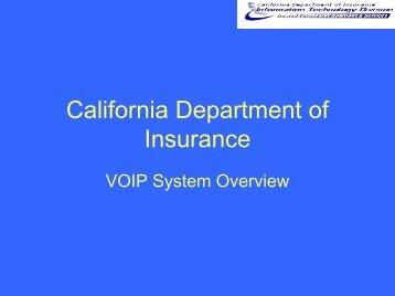 VOIP System Overview (PDF, 245 KB) - Cioarchives.ca.gov