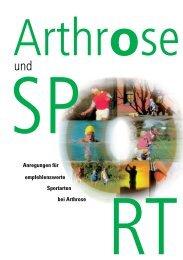 Anregungen für Sportarten bei Arthrose ... - MoveNet24