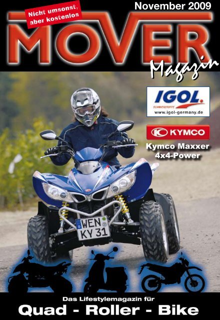 Mover-Magazin - November 09
