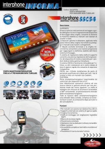 SSCGPS54: Scheda IT - Interphone