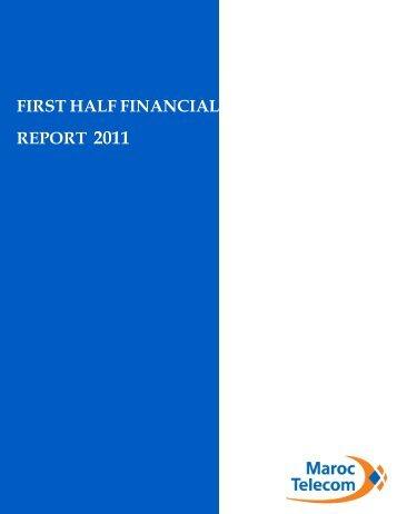 5 financial report - Maroc Telecom