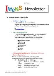 Newsletter Nr. 03 05/2011 - IMeNS - Lahn-Dill-Kreis