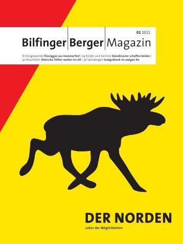 DER NORDEN - Bilfinger Berger Magazin