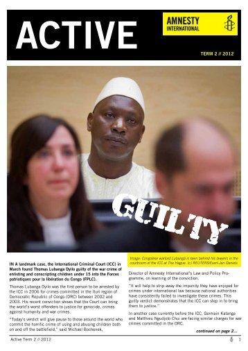 ACTIVE Term 2 2012 - FINAL - Amnesty International