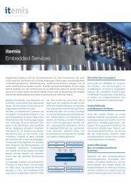 itemis Embedded Services - itemis AG
