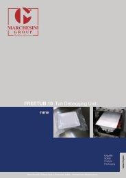 Tub Debagging Unit FREETUB 10 - Marchesini Group