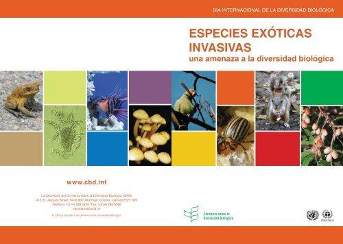 ESPECIES EXÓTICAS INVASIVAS una ... - Interreg Bionatura