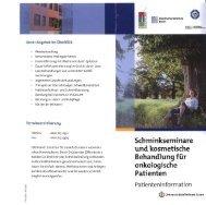 Flyer - Westdeutsches Tumorzentrum Essen