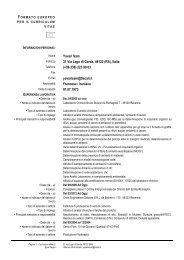 * NOTE - Ordine dei Chimici di Bologna e Ravenna
