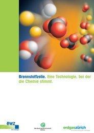 Broschüre Brennstoffzelle - Erdgas Zürich AG