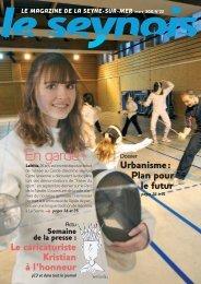 Consulter le magazine LeSeynois Mars 2011 - La Seyne-sur-Mer