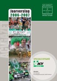 Jaarverslag 2006-2007 - ACV Kempen