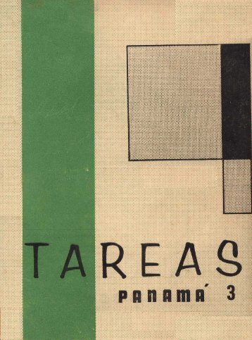 Revista tareas. N°3. (Marzo - Abril, 1961) - Biblioteca Virtual El Dorado