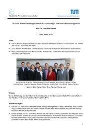 2011 - und Innovationsmanagement