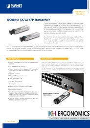 1000Base-SX/LX SFP Transceiver