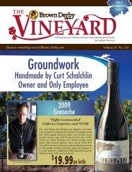 Harvest 2011 Vineyard - Brown Derby International Wine Center