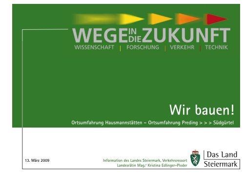 Wir bauen! - Gemeinde Krottendorf