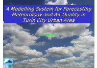 A Modelling System for Forecasting Meteorology and ... - FUMAPEX