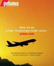 Reise 2013 - prisma Verlag