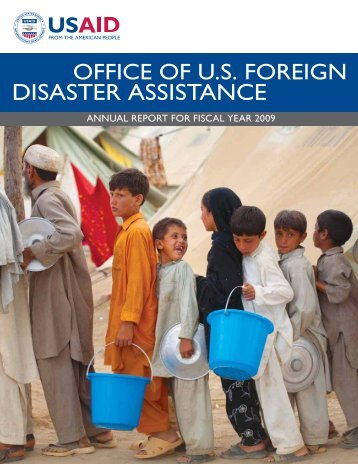 Office of U.S. Foreign Disaster Assistance Annual Report 2009