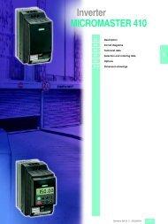Inverter MICROMASTER 410